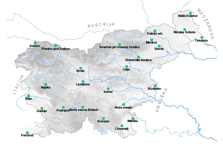 Meteo Si Uradna Vremenska Napoved Za Slovenijo Drzavna